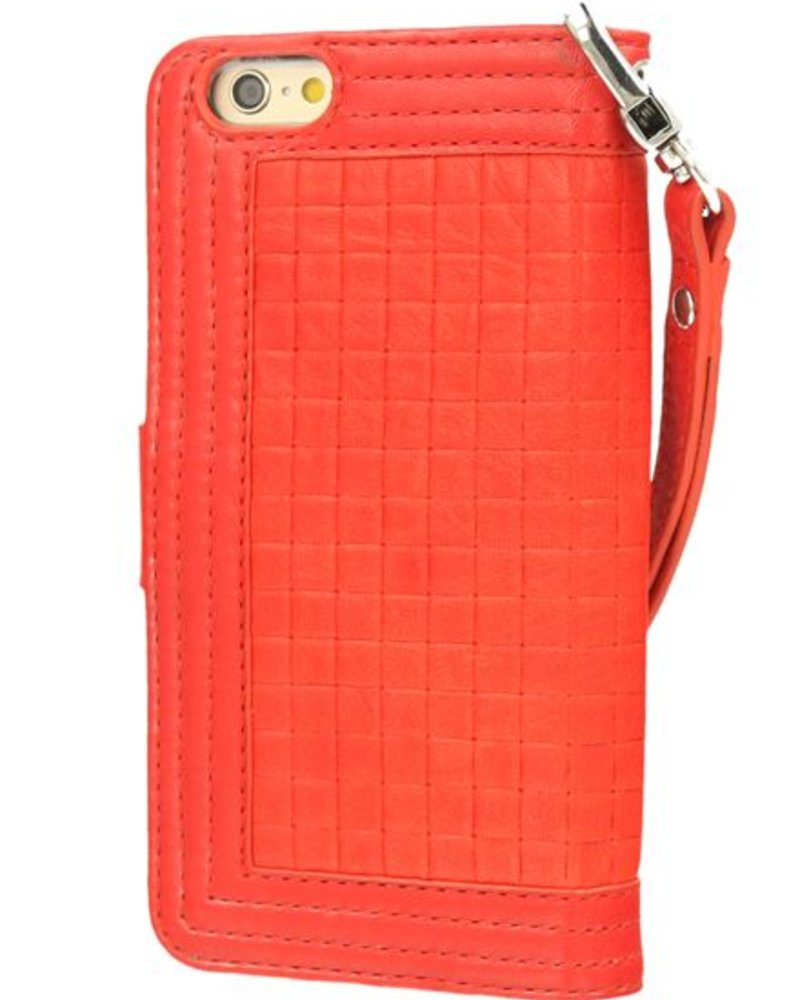 BYBI Lifestyle Fashion Brand Memorable Milano Hoesje Rood iPhone 6S/6