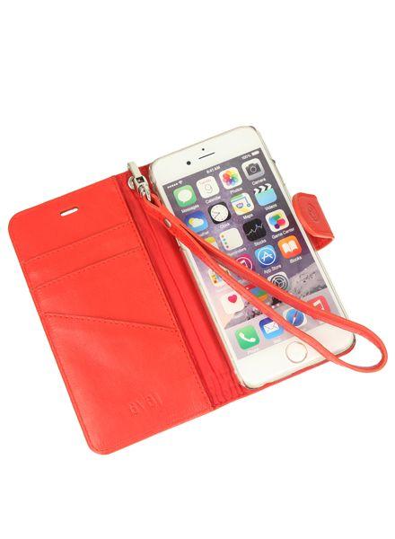 BYBI Smart Accessories Memorable Milano Hoesje Rood iPhone 6S/6
