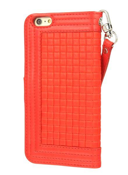 BYBI Smart Accessories Memorable Milano Hoesje Rood iPhone 6S/6 Plus