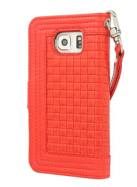 BYBI Smart Accessories Memorable Milano Hoesje Rood Samsung Galaxy S6