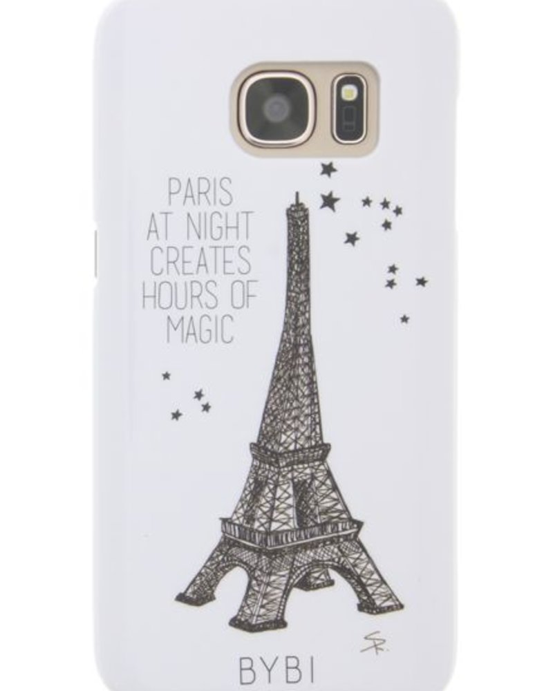 BYBI Lifestyle Fashion Brand Paris At Night... Glow in the dark Samsung Galaxy S7