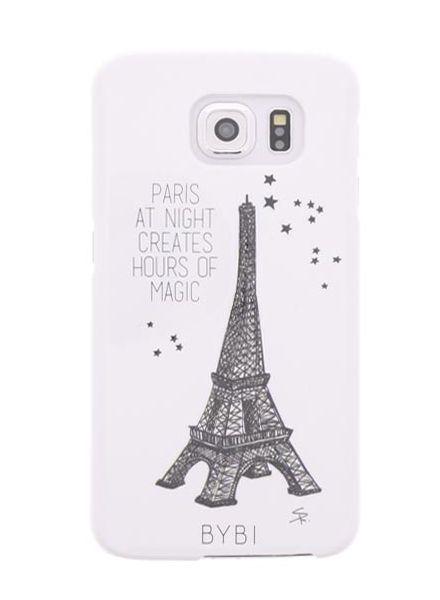 BYBI Smart Accessories Paris At Night... Glow in the dark Samsung Galaxy S6