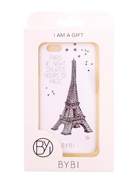 BYBI Smart Accessories Paris At Night... Glow in the dark iPhone 6S/6