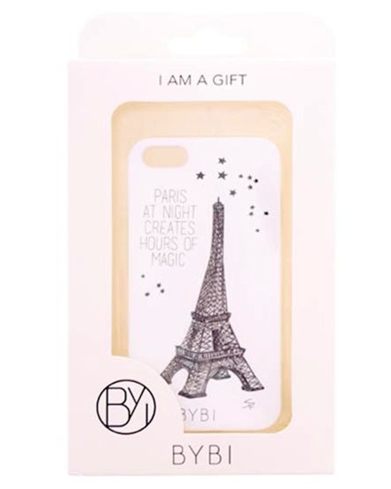 BYBI Lifestyle Fashion Brand Paris At Night... Glow in the dark iPhone 5S/5
