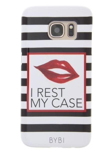 BYBI Lifestyle Fashion Brand I Rest My Case Samsung Galaxy S7