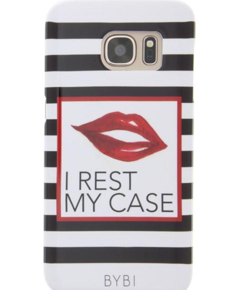 BYBI Lifestyle Fashion Brand I Rest My Case Samsung Galaxy S6