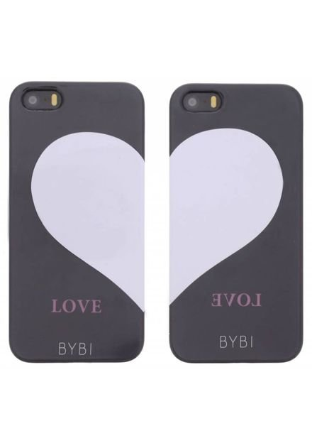 BYBI Lifestyle Fashion Brand Best Friends Combi Set (left&right) iPhone SE
