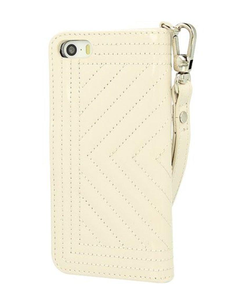 BYBI Lifestyle Fashion Brand Inspiring London Case Beige iPhone 5S/5