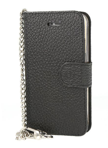 BYBI Smart Accessories Lovely Paris Hoesje Zwart iPhone 5S/5