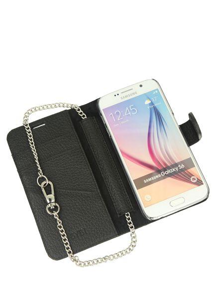 BYBI Smart Accessories Lovely Paris Zwart Samsung Galaxy S6