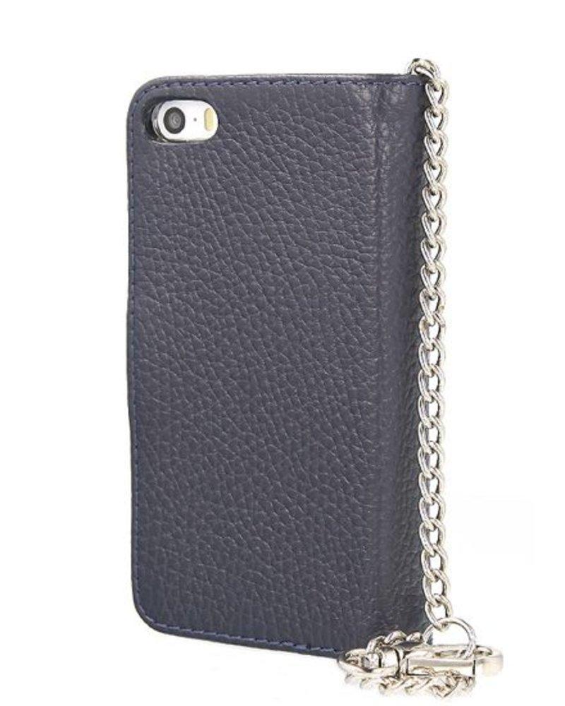 BYBI Lifestyle Fashion Brand Lovely Paris Donker Blauw iPhone 5S/5