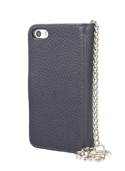 BYBI Smart Accessories Lovely Paris Donker Blauw iPhone 5S/5