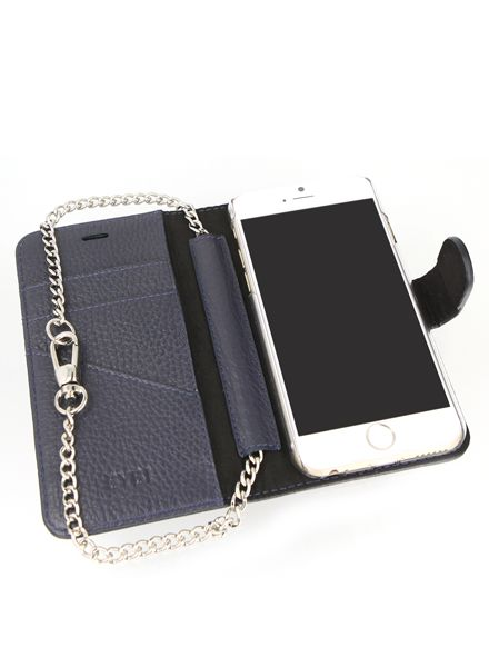 BYBI Smart Accessories Lovely Paris Donker Blauw iPhone 6S/6