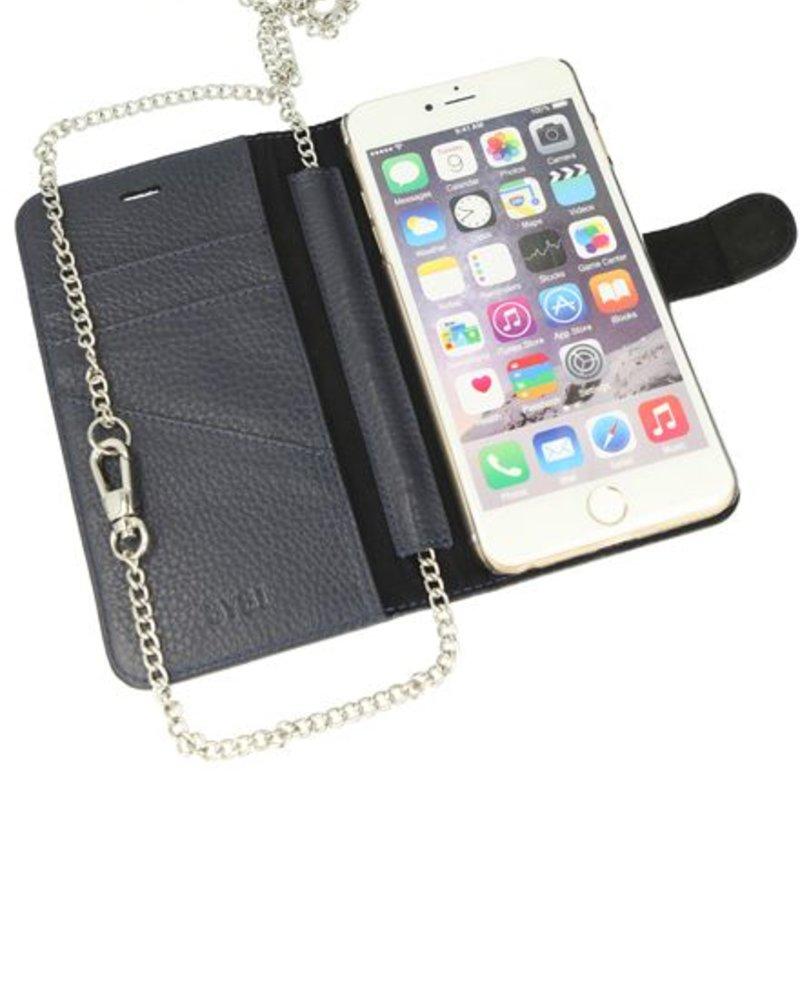 BYBI Lifestyle Fashion Brand Lovely Paris Donker Blauw iPhone 7 Plus