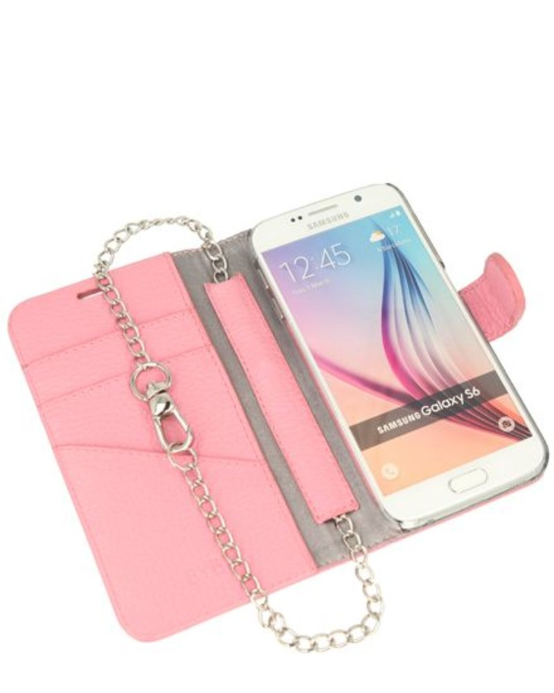 BYBI Lifestyle Fashion Brand Lovely Paris Roze Samsung Galaxy S6
