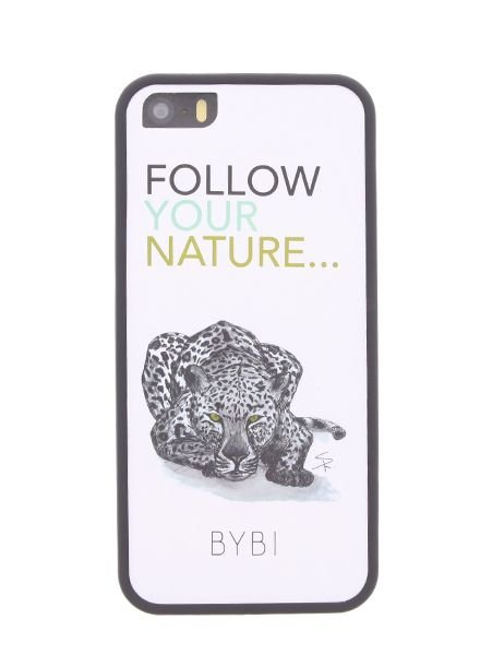 BYBI Lifestyle Fashion Brand Follow Your Nature iPhone SE