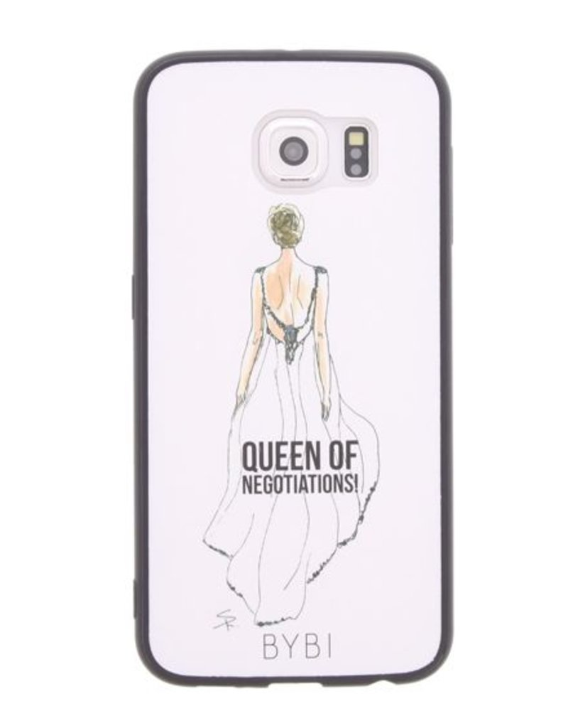 BYBI Lifestyle Fashion Brand Queen Of Negotiation Samsung Galaxy S6
