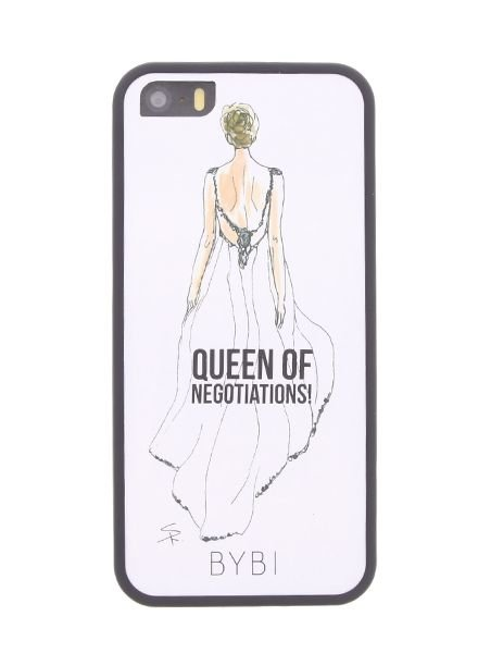 BYBI Lifestyle Fashion Brand Queen Of Negotiation iPhone 5S/5