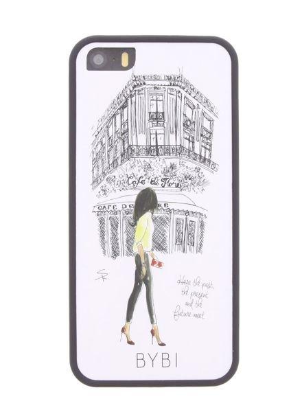 BYBI Smart Accessories Cafe De Flore iPhone SE