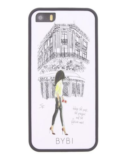 BYBI Smart Accessories Cafe De Flore iPhone 5S/5