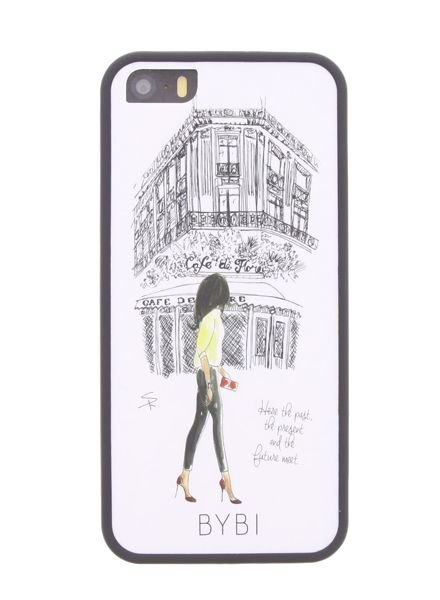 BYBI Lifestyle Fashion Brand Cafe De Flore iPhone 5S/5