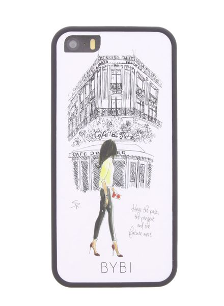 BYBI Smart Accessories Cafe De Flore iPhone 5S/5