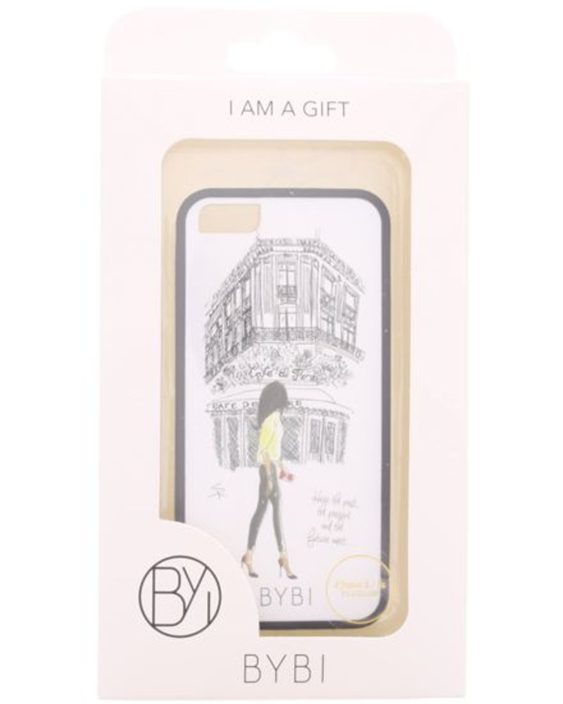 BYBI Lifestyle Fashion Brand Cafe De Flore iPhone 5S/5