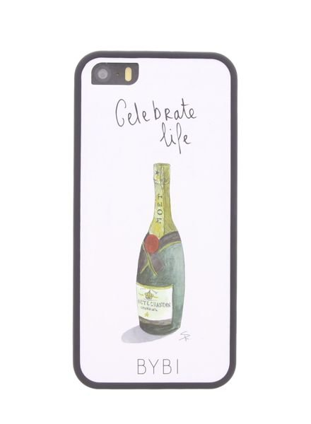 BYBI Lifestyle Fashion Brand Celebrate Life iPhone 5S/5