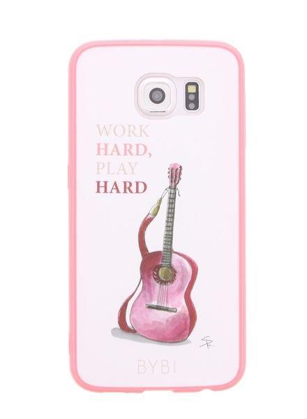 BYBI Lifestyle Fashion Brand Work Hard, Play Hard Samsung Galaxy S6