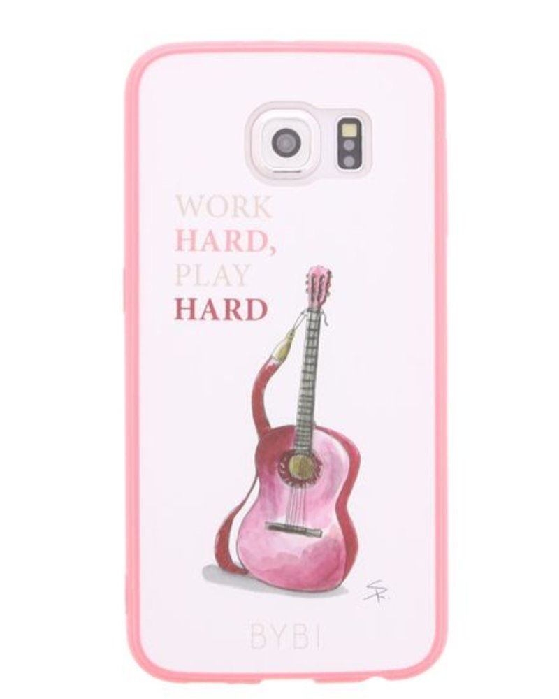 BYBI Lifestyle Fashion Brand Work Hard, Play Hard Samsung Galaxy S6