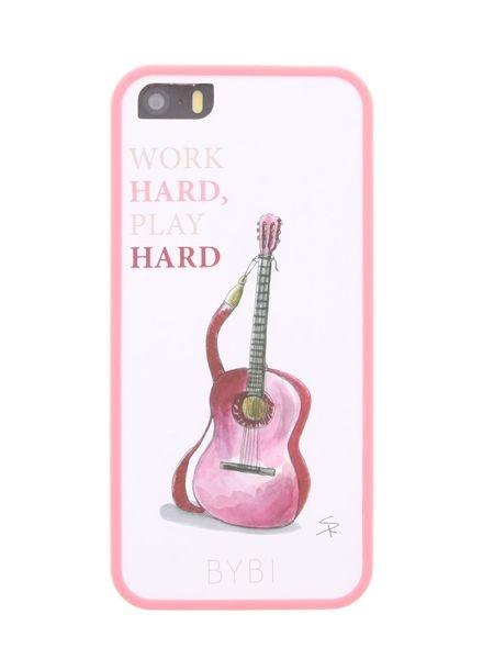 BYBI Lifestyle Fashion Brand Work Hard, Play Hard iPhone 5S/5