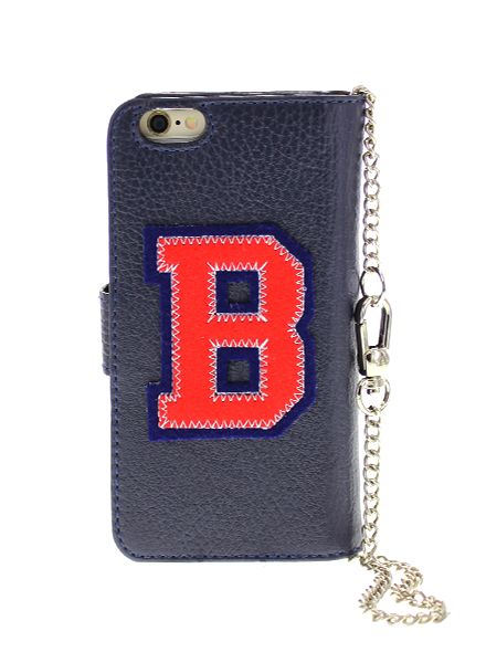 BYBI Smart Accessories Patch-B Donker Blauw iPhone 6S/6