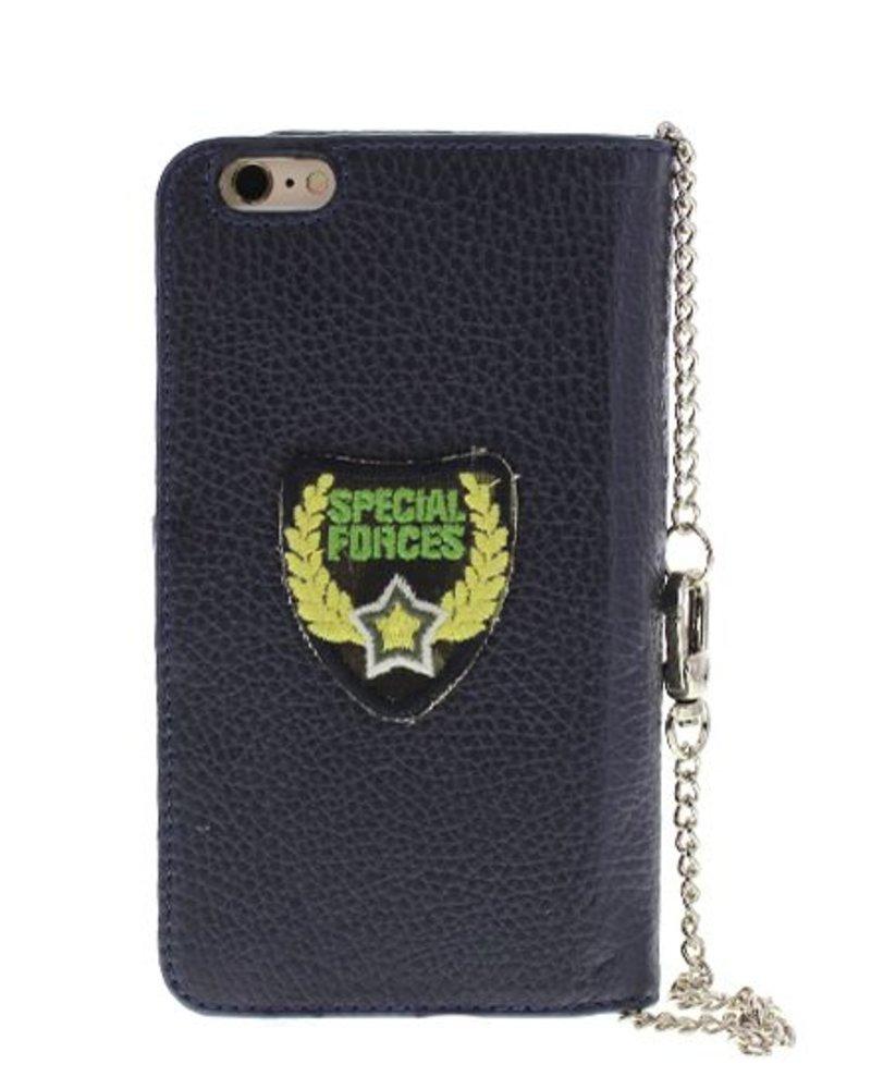 BYBI Lifestyle Fashion Brand  Patch Stars Blauw iPhone 6S/6 Plus