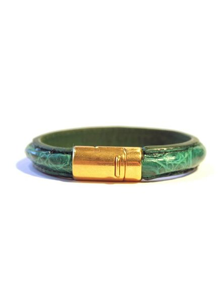 DLHC Croco armband small groen