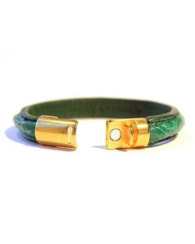 DLHC Croco armband small groen