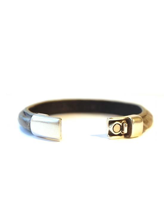DLHC Croco armband large grijs