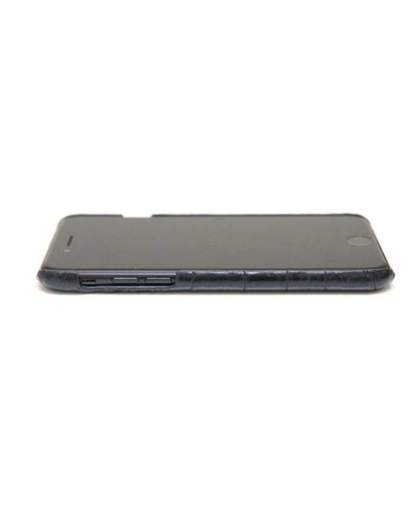 XO XO luxury croco Zwart iPhone 6S/6