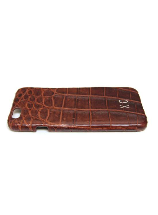 XO XO luxury croco Bruin iPhone 6S/6