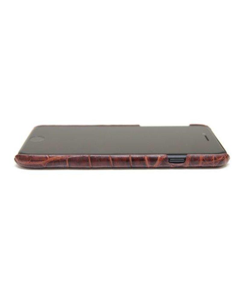 XO XO luxury croco Bruin iPhone 7