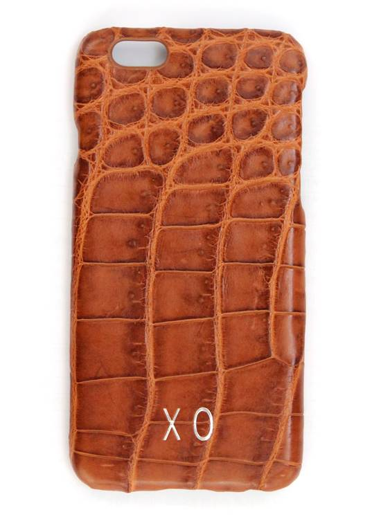 XO XO luxury croco Cognac iPhone 6S/6