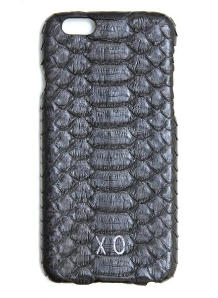 XO XO luxury python Zwart iPhone 6S/6