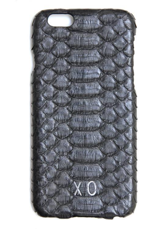 XO XO luxury python Zwart iPhone 6S/6