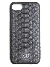 XO XO luxury python Zwart iPhone 7