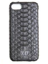 XO XO luxury python Zwart iPhone 7
