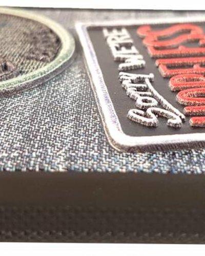 UpCases 3D Badge Denim hoesje