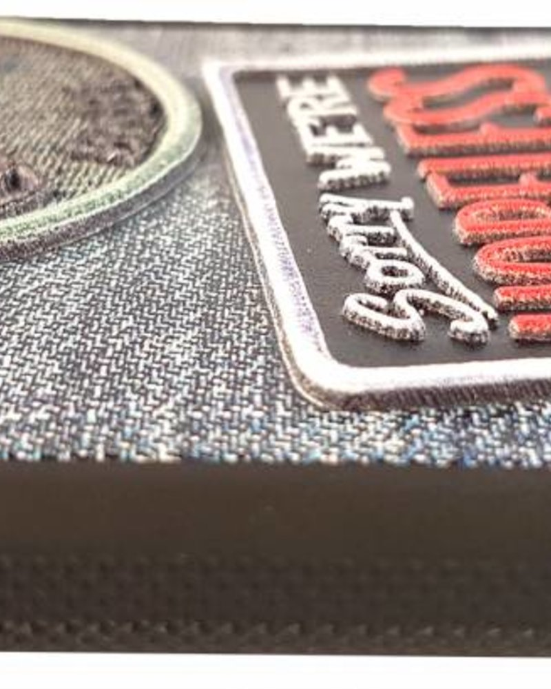 UpCases 3D Badge Denim hoesje