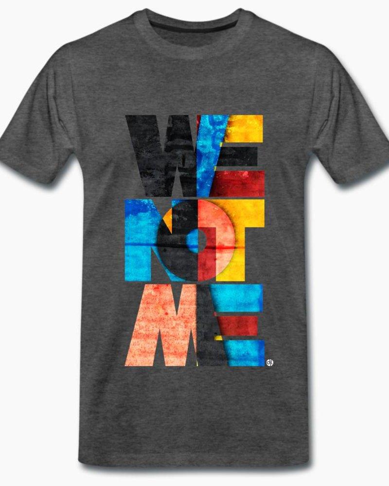 djl. Mannen T-shirt Premium Wit WeNotMe