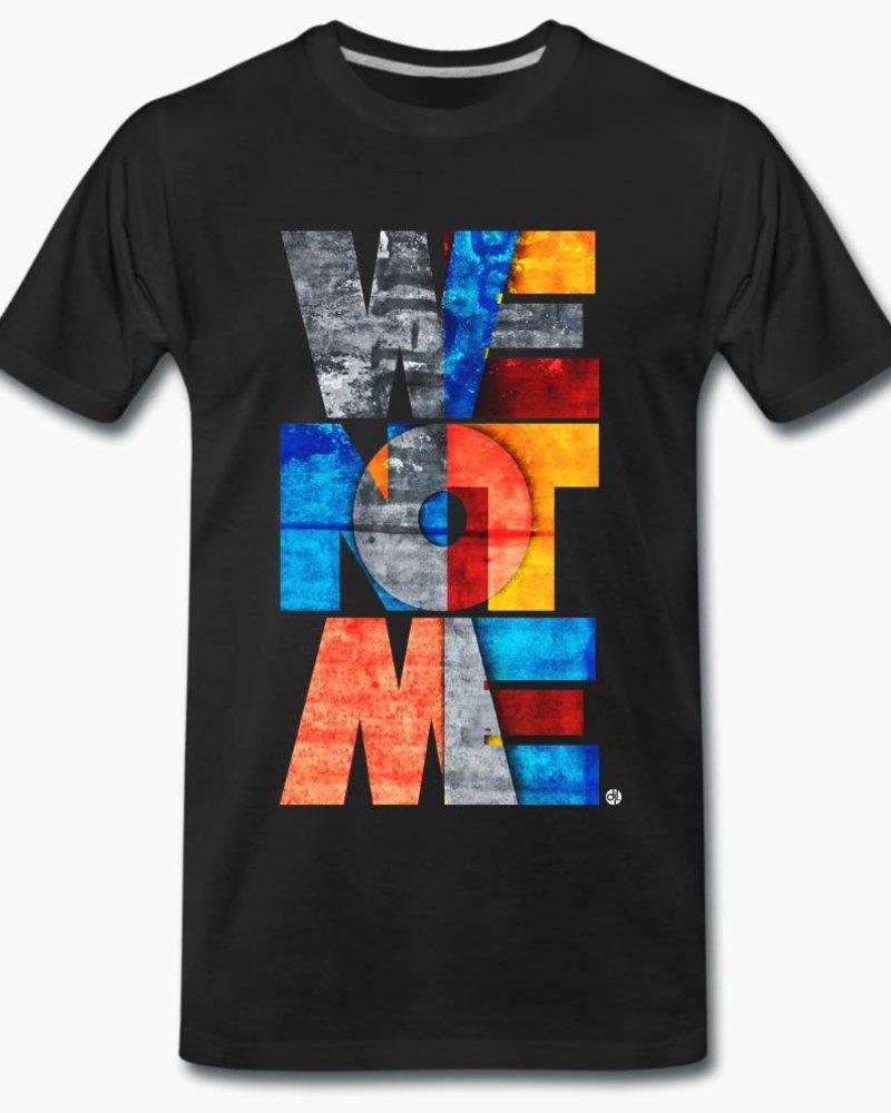 djl. Mannen T-shirt Premium Zwart WeNotMe