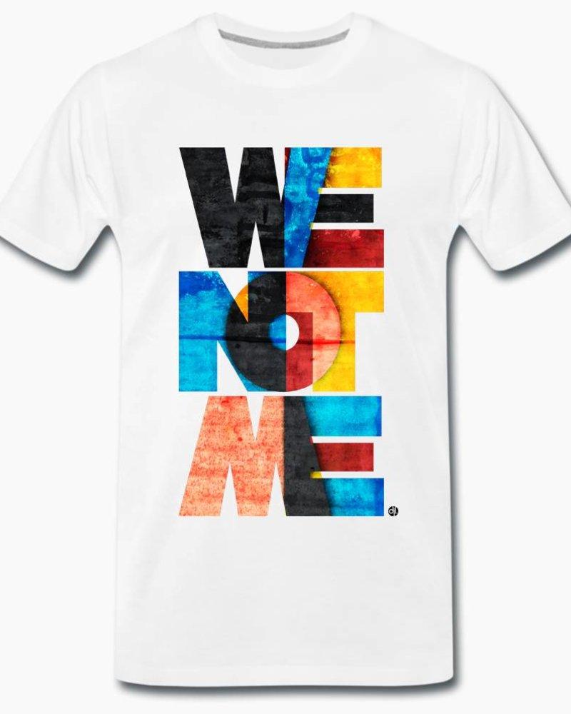 djl. Mannen T-shirt Premium Grijs WeNotMe