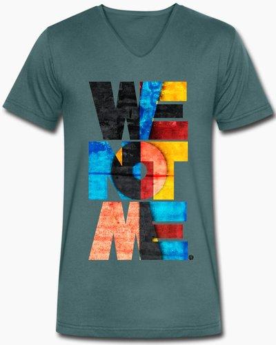 djl. Mannen V-shirt Premium Mint WeNotMe